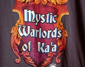 T-Shirt Mystic Warlords of Ka'a Big Bang Theory graphic men's large