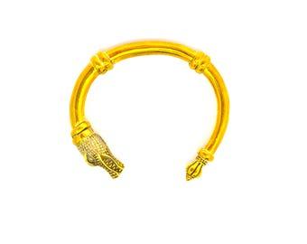 The Marsh Cuff|Alligator Cuff|Gator Cuff|Alligator bracelet|Alligator jewelry|