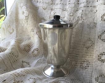 Sugar sprinkler STERLING SILVER 1st title 925, Art Deco style Sugar pot 1920