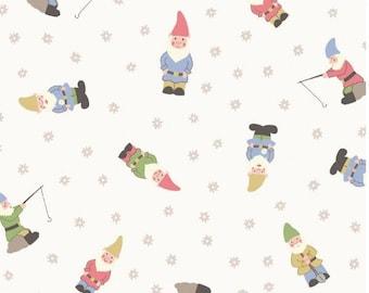 Lewis & Irene - Grandma's Cottage Garden - Gnomes - White
