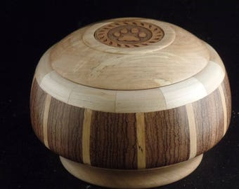 Pet Urn # 968-42 Zebra Wood