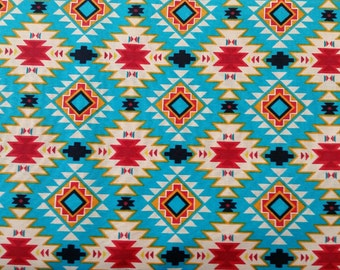 Wild West geometric Native American/ American Indian Fabric by the yard