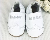 Baptism shoes - Brogues - Personalized baptism shoes - Baby Brogues - Christening gift - christening shoes - christening outfit
