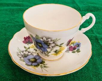 Royal Ascot Floral Tea Cup Bone China England