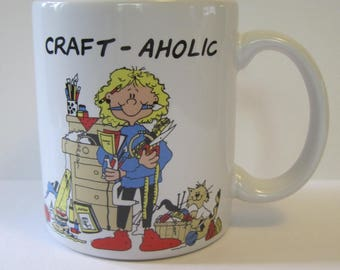 Vintage Craft-aholic Coffee Mug - Cup