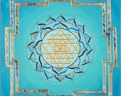Unity Yantra-  Original Acrylic on canvas