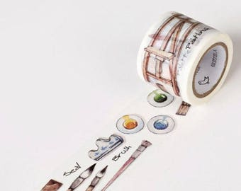 Painting Washi Tape Masking Tape Planner Stickers Scrapbooking Stickers