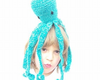 OCTOPUS CROCHETPATTERN, Crochet, Sea, Sealife, Octopus, Tutorial,Crochetoctopus, Easy Pattern, Direct Download, Amigurumi,Kidstoy, Kidsdecor