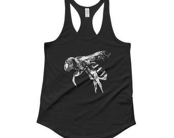 Honey Bee Tank Top, Honey Bee Shirt, Insect Shirt, Insect Tank Top, Bug Tank Top, Honey Bee, Bee Tank Top, Bee Shirt