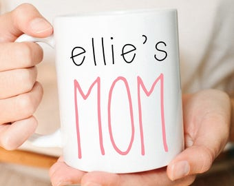 Mom, Mothers Day Gift, Mom Gift, Custom Mom Gift, Mom mug, pregnancy announcement, New Mom Gift, Personalized Mom Gift