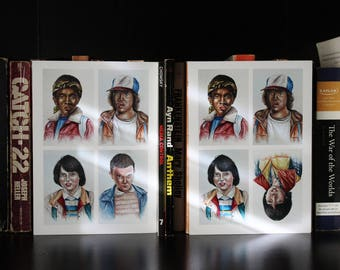 Stranger Things Character Greeting Cards