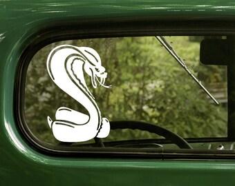 Snake Decal, Snake Sticker, Cobra Decal, Snake Car Decal, Vinyl Sticker, Car Stickers, Laptop Sticker, Vinyl Decal