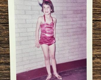 Original Vintage Color Photograph Fancy Dancer