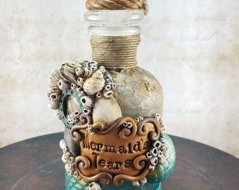 Salvaged bottle, Mermaid's Tears