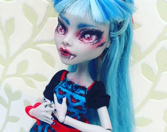 Monster High - Freaky Fusion Ghoulia Yelps OOAK Repaint