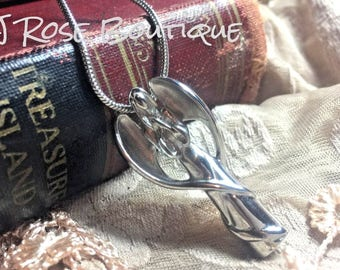 Guardian Angel Stainless Steel Cremation Urn Locket Necklace Pendant with chain and funnel Ash Memorial