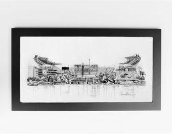 Pittsburgh Steelers Print - Pittsburgh, Pennsylvania