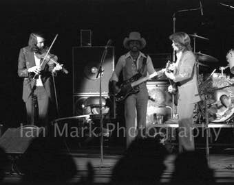 Nitty Gritty Dirt Band   8X12  1977 Photo
