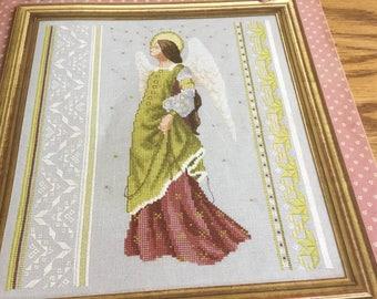 C - RENAISSANCE ANGEL - Cross Stitch Pattern Only