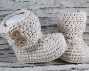 Baby Boots, Crochet Boots, Baby Girl, Baby Boy, Unisex