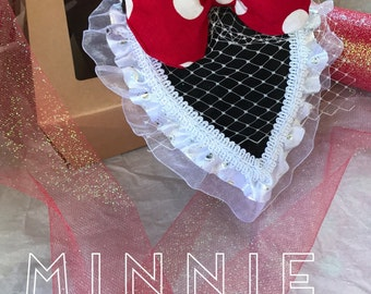 Minnie Mouse Fascinator