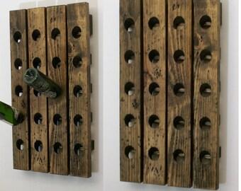 Riddling Racks Matched Set Wood Wine Racks Next Day Shipping
