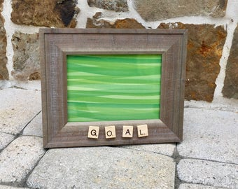 GOAL ~ Lacrosse or Soccer Picture Frame