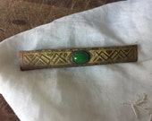 Vintage Chinese Jade pin / Reserved