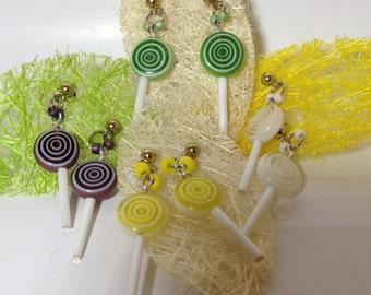 Lollypop Dangle Earrings