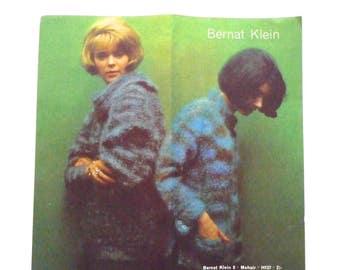 Bernat Klein No. 8 Mohair Kntting Patterns