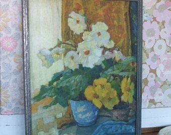 Vibrant Floral Framed Print/Picture