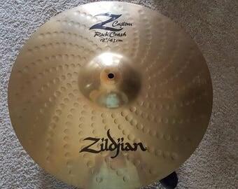 "Zildjian Z Custom Rock Crash 18 "" Cymbal"