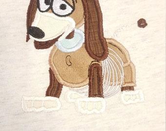 Slinky Dog personalized machine embroidered shirt....Disney World...Disney Land....Disney..Toy Story... cruise...