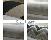 15% Off Sale Door Draft Stopper, Draft Stopper , Breeze Blocker - Draft Dodger - Door snake - Window Snake - home and living -