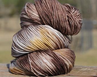 Country Road - merino/nylon, super wash sock yarn, indie dyed, hand dyed, knitting, crochet