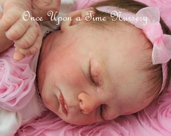 Free Shipping Realborn baby girl Sofie by Artist Rhonda Bartley SOLE Realborn sculpt Kase by Denise Pratt