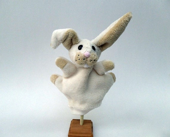 Benny, the bunny - Hand puppet