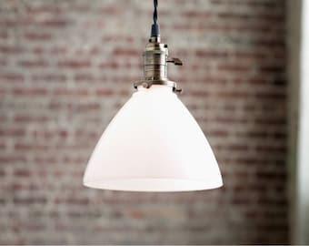 Pendant Lights - Kitchen Lighting -  Hanging Pendant Light - Industrial Shade Pendant - Modern