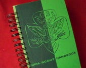 Girl Scout Handbook journal diary planner altered book