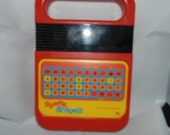 Vintage 1978 SPEAK And Spell Texas Instruments TI educational electronic toy Not Working Prop parts