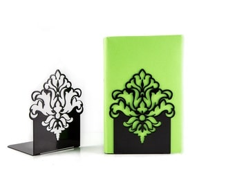 A pair of Bookends Ornament //  shelf decor for your beautiful books // FREE SHIPPING