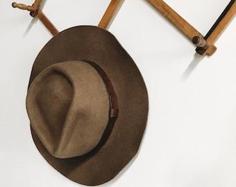 Vintage Wool Fedora Hat