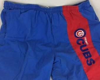 Vintage 1980s Chicago Cubs Shorts