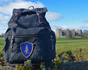 Ravenclaw Backpack 3 badge choices