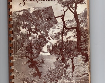 Vtg Scenic Colorado Photographs from the O. Roach Collection 1946 Wonderful B/W Pics of Colorado Winter, Summer, Fauna, Flowers, Land, MORE