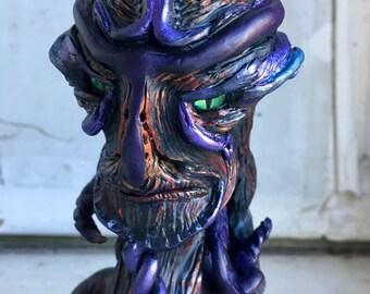 Alien Sculpture, Creature Design, Sculpture, Demon, Monster, Polymer Clay, Polymer Clay Art, Creature Maquette, Fantasy Art, SciFi