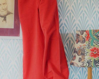 "15. Lois Retro flared pants red (W37-L115cm / W14.6-L45.3"")"