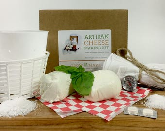 DIY Artisan Cheese Kit