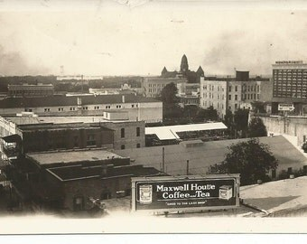 Vintage Photograph Maxwell House Coffee and Tea Factory