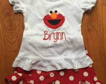 Elmo Outfit